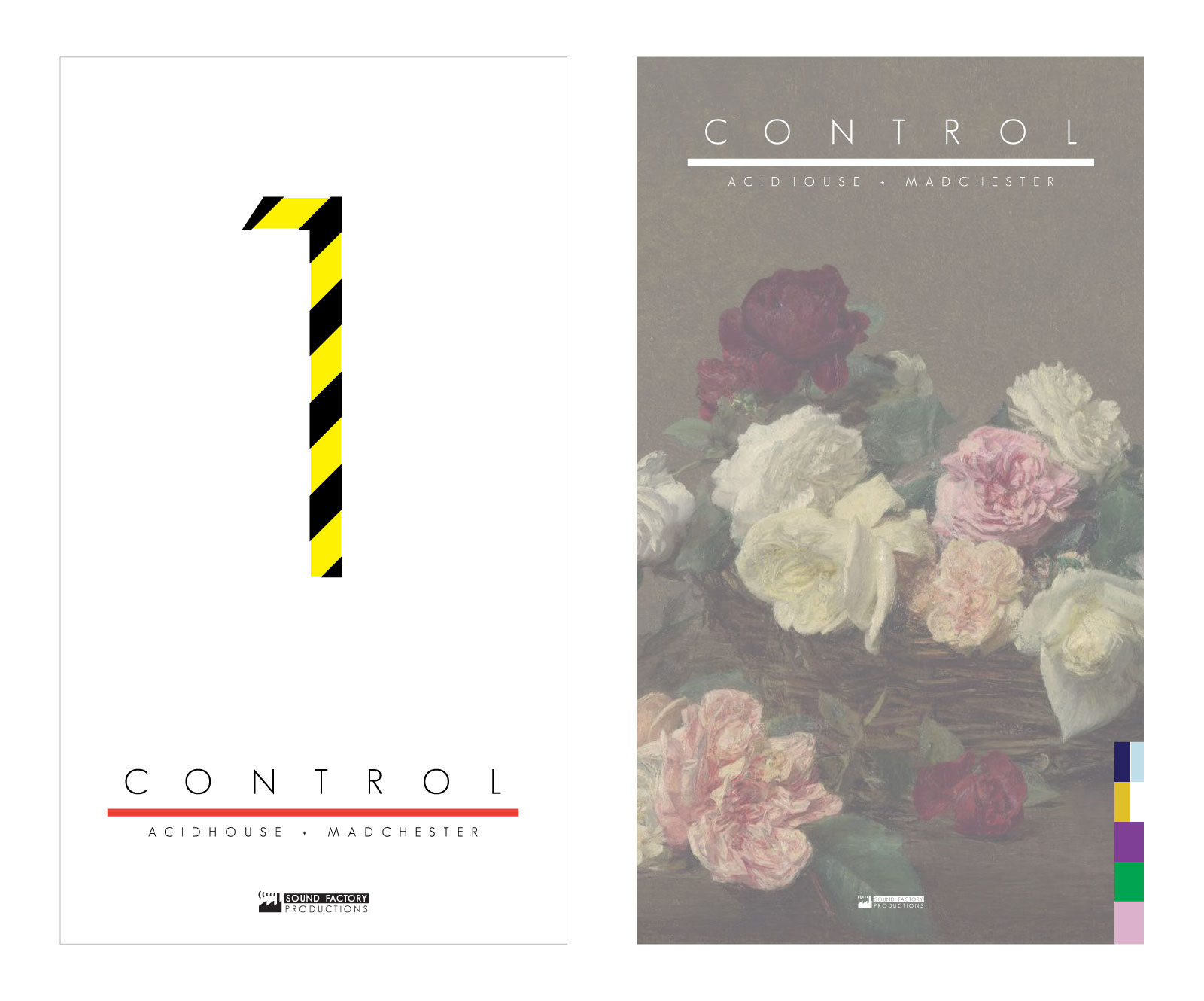 CONTROL: Number 1 & 2