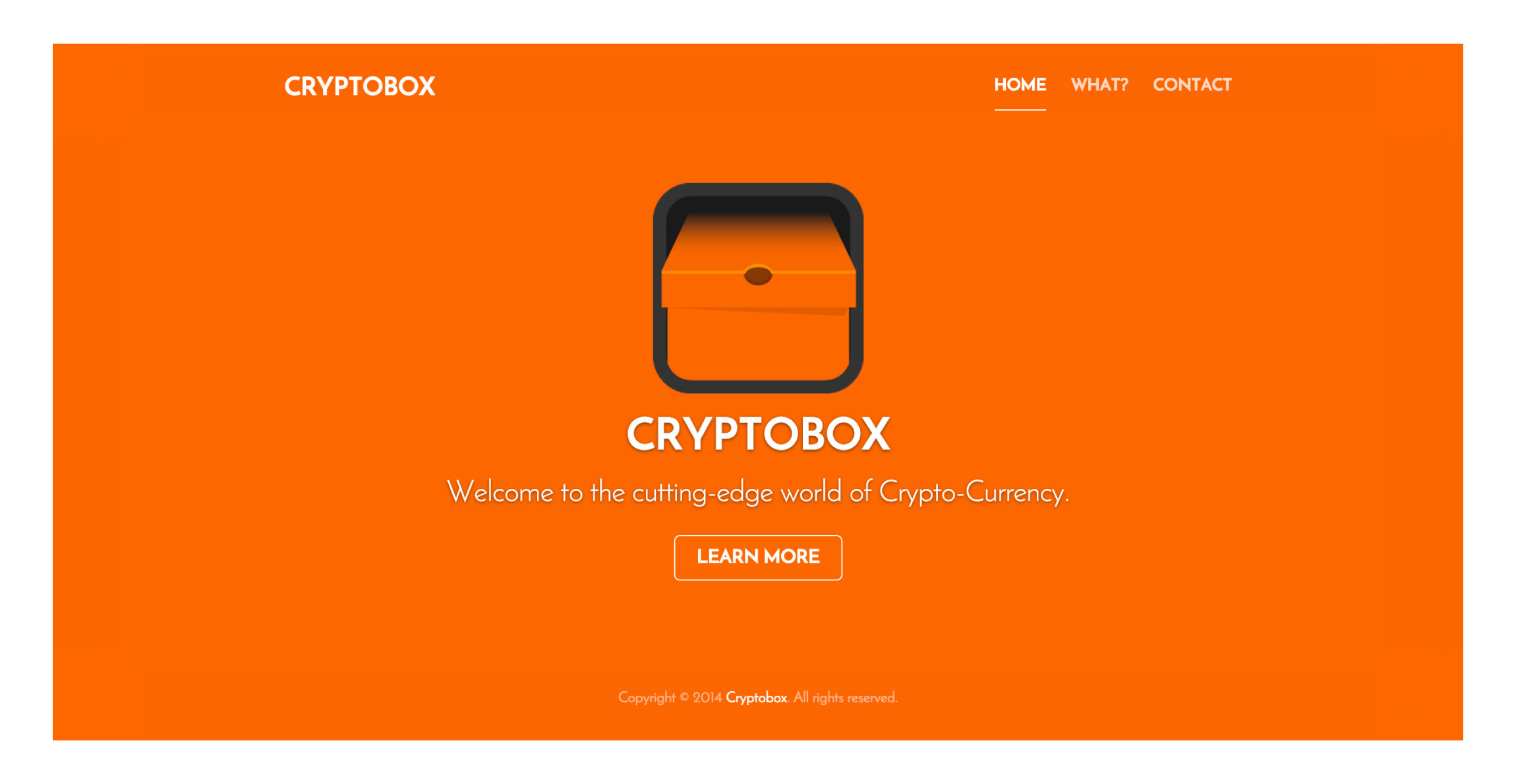 Cryptobox Homepage