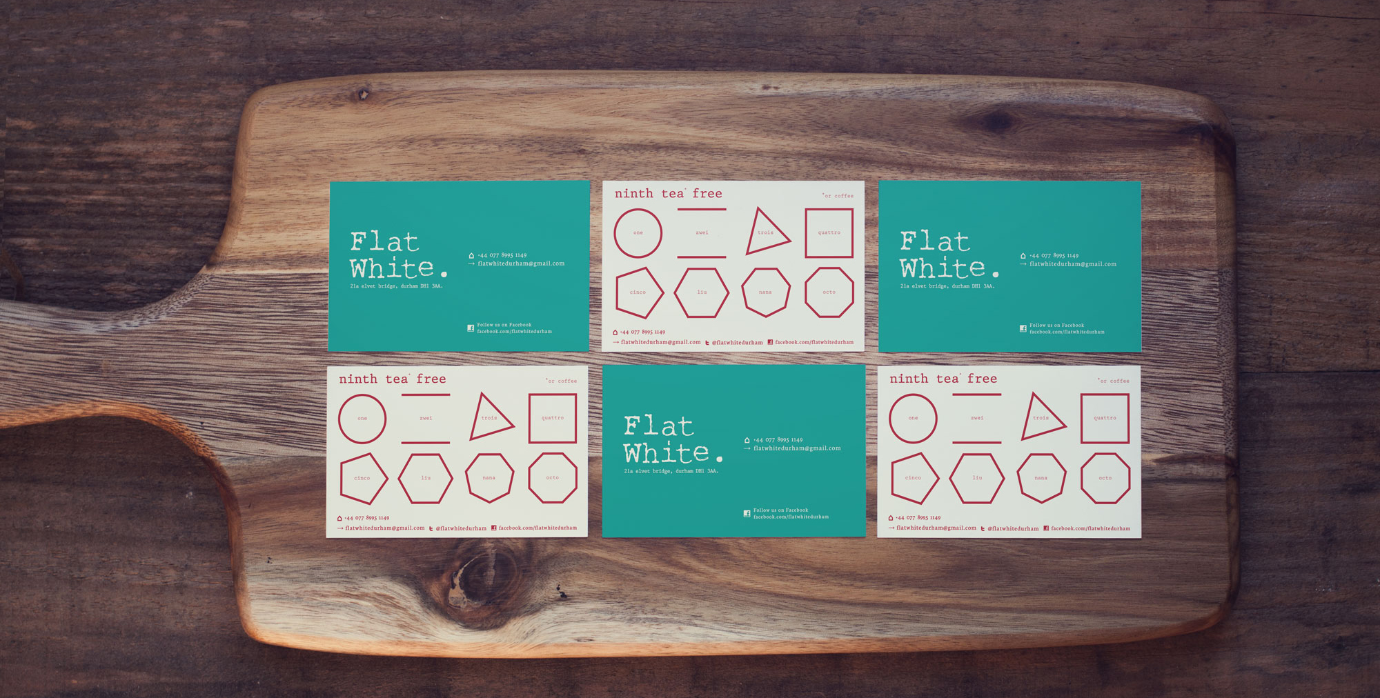 Flat White loyalty cards